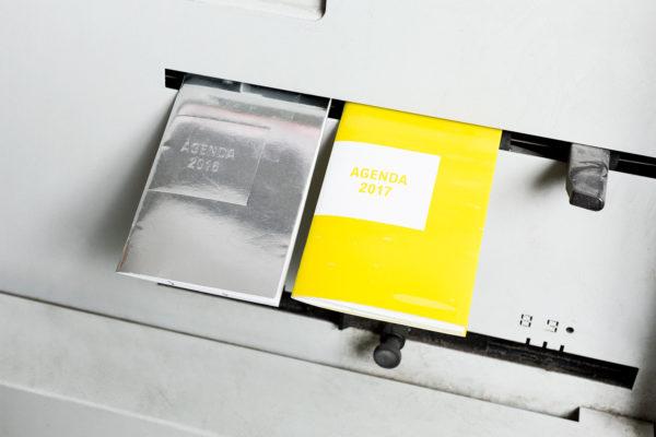 Brochure agraphée